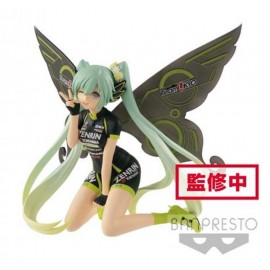 BANPRESTO HATSUNE MIKU - Racing MIKU 2017 Team - Ukyo Cheering - 13cm