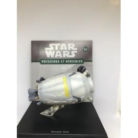 ATLAS STAR WARS VAISSEAUX ET VEHICULES r2-d2 la capsule de sauvetage