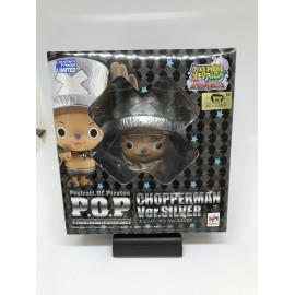 ONE PIECE P.O.P pop MEGAHOUSE tony tony CHOPPERMAN CHOPPER SILVER PROMO