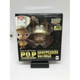 MEGAHOUSE ONE PIECE POP P.O.P NEO-EX chopper Chopperman gold PROMO