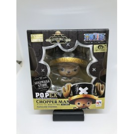 MEGAHOUSE One Piece POP yellow Reoma World Limited Chopper Figure PROMO