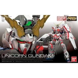 Bandai - gundam unicorn gundam full psycho frame prototype rx-0 Model Kits