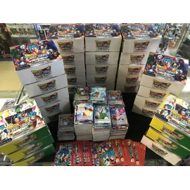 PROMO tcg dragon ball super lot 50 cartes SANS DOUBLE + pochettes RARE francais