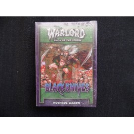 STARTER DECK WARLORD black knives nothrog legion ANGLAIS SOUS BISTER