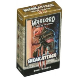 STARTER DECK WARLORD SNEAK ATTACK ANGLAIS SOUS BISTER