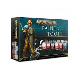 WARHAMMER age of sigmar paints tools