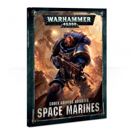 Warhammer 40,000 Codex: Space Marines (Hardback) francais