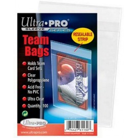 Ultra Pro Soft Sleeve Team Bag 100 Pack Protectors PROTECTION CARTE POKEMON MAGIC
