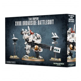 warhammer 40 000 tau empire XV88 Broadside Battlesuit Francais
