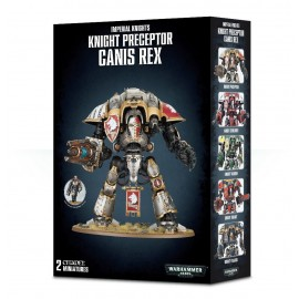 warhammer 40 000 Knight Preceptor Canis Rex Francais