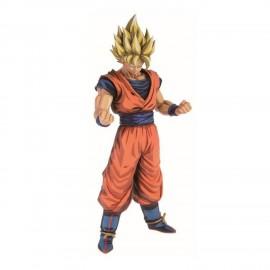 banpresto Figurine DBZ Son Goku Super Saiyan Grandista Manga Dimensions 28cm