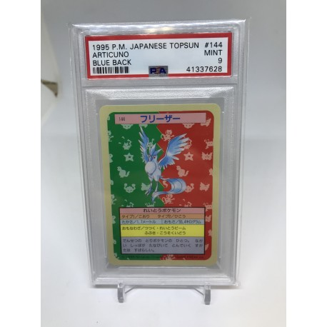 POKEMON 1995 japanese PSA9 topsun zapdos green back elector