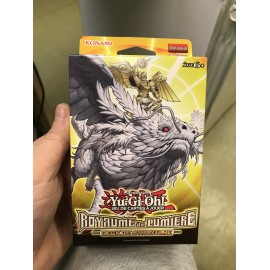 NEUF 1ere EDITION francais yu gi oh deck structure royaume de lumiere