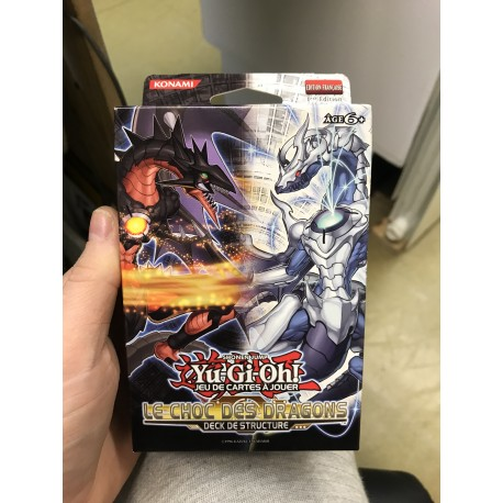 NEUF 1ere EDITION francais yu gi oh deck structure revolution cyber dragon