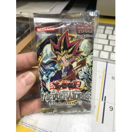 NEUF 1ere EDITION francais yu gi oh booster metal raiders 2002