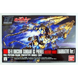 Bandai HGUC 213 Unicorn Gundam 03 Phenex Destroy Mode Narrative Ver. 1/144 Kit