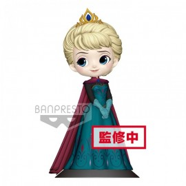 banpresto Figurine Q Posket elsa Coronation Style A Normal Color frozen reine des neiges