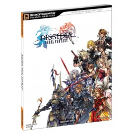 FRANCAIS Guide Officiel - Final Fantasy Dissidia - Neuf