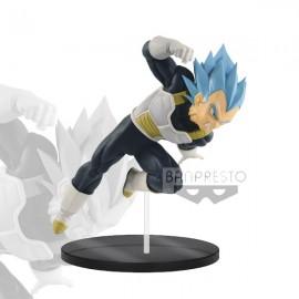 banpresto DBZ Super Movie Ultimate Soldiers Ss God Ss Son Goku Blue 20cm