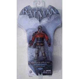 Arkham Origins. Deadshot 6 Action Figure. Série 2. Batman DC.