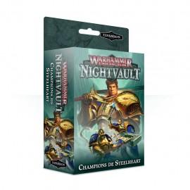 WARHAMMER Underworlds Nightvault Champions de Steelheart