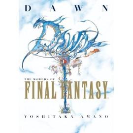 Dawn The Worlds of Final Fantasy by Amano, Yoshitaka Hardback Book The Cheap Fan Book art book
