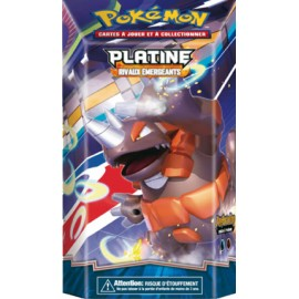 Decks Preconstruits Pokemon deck platine rivaux emergeants perforation francais