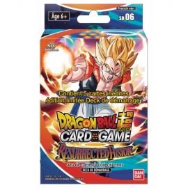 """Dragon Ball Super Card Game ! Deck de Démarrage """"Shenron's Advent"""" - VF/SD07"""