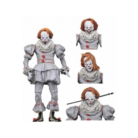 neca IT Action Figure Ultimate Pennywise 18cm 1990 Miniseries