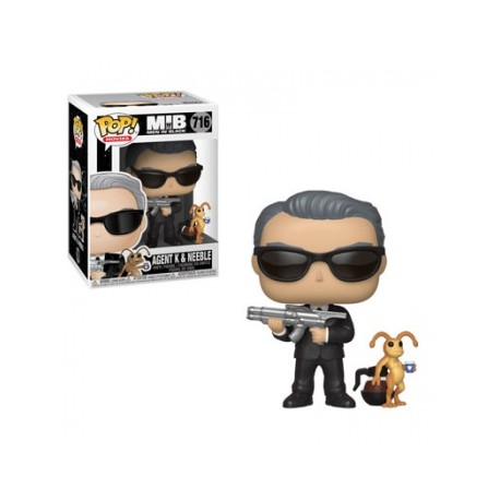 Funko POP! Men In Black - Agent J & Frank Vinyl Figure 10cm