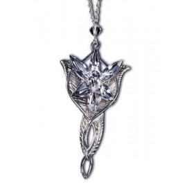 Le Seigneur des Anneaux pendentif Arwen - Pendentif Etoile du Soir - argent massif