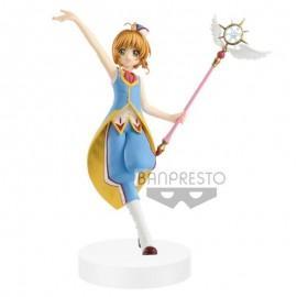 Banpresto Cardcaptor Sakura Clear Card statuette PVC EXQ Sakura Kinomoto 21 cm