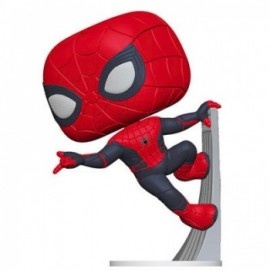 Funko POP! Spider-Man: Far From Home - Spider-Man (Upgraded Suit) Vinyl Figure 10cm