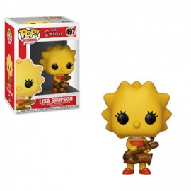 Funko POP! The Simpsons: Lisa with Saxophone Vinyl Figure 10cm