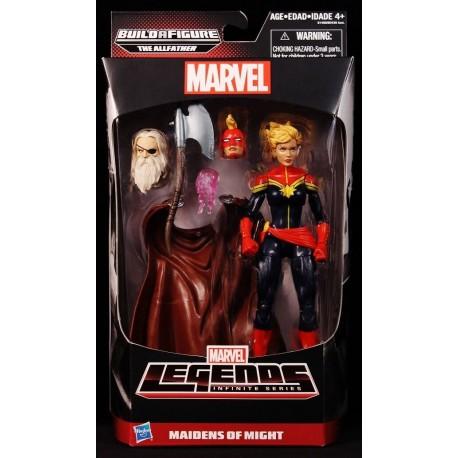 Marvel Hasbro Marvel Legends SERIES gardiens de la galaxie Titus Wave Vance Astro