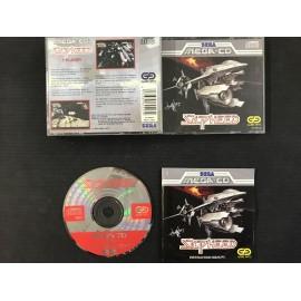 SEGA silpheed francais mega-cd complet boite + notice