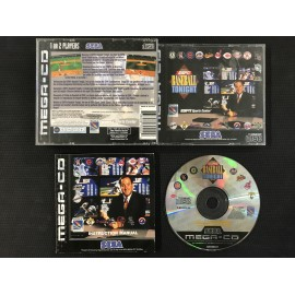 SEGA ESPN Baseball Tonight francais mega-cd complet boite + notice
