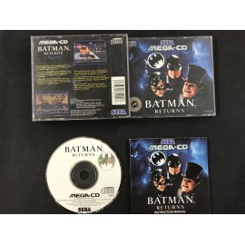 SEGA batman returns francais mega-cd complet boite + notice