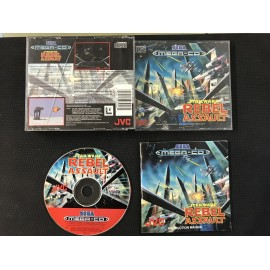 SEGA star wars rebel assault francais mega-cd complet boite + notice