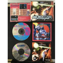 SEGA blackhole / microcosm francais mega-cd complet boite + notice