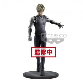 Figurine One Punch-Man - genos - DXF-Premium Figure Banpresto 20 cm