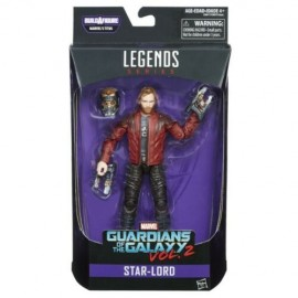 MARVEL LEGENDS SERIES GUARDIANS OF THE GALAXY STAR-LORD ACTION FIGURE HASBRO