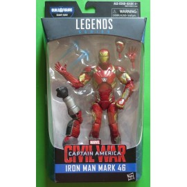 "Marvel Legends Captain America civil war Iron Man Mark 46 6"" BAF Giant Man"