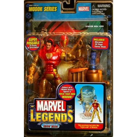 Marvel Legends Démolition man mercenaires du chaos IN BOX Rouge Crâne BAF