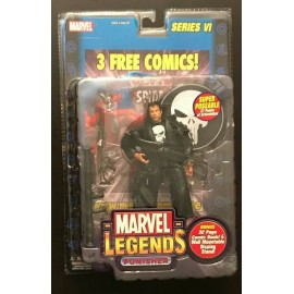 Marvel Legends Punisher Movie Series 6 VI 2004 TOYBIZ Action Figure-No Comic