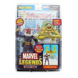 "Marvel Legends Series 14 6"" Action Figure: Le Baron Zemo"