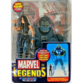 "Marvel Legends 6"" X-23 BAF Apocalypse Figure Toy Biz Scellé Comic"