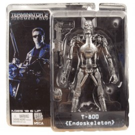 TERMINATOR 2 JUDGMENT DAY T800 ENDOSKELETON NECA REELTOYS HASBRO MEZCO