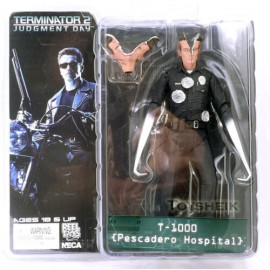 TERMINATOR 2 JUDGMENT DAY T1000 PESCADERO HOSPITAL NECA REELTOYS HASBRO MEZCO