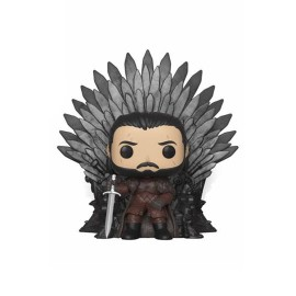 Game of Thrones POP! Deluxe Vinyl figurine Jon Snow on Iron Throne 15 cm